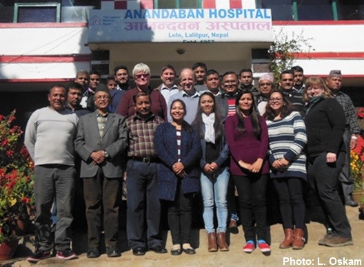 Anandaban Hospital Team Nepal