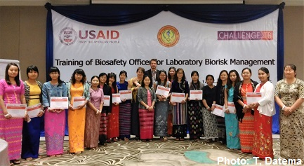 Biorisk Management Training Myanmar