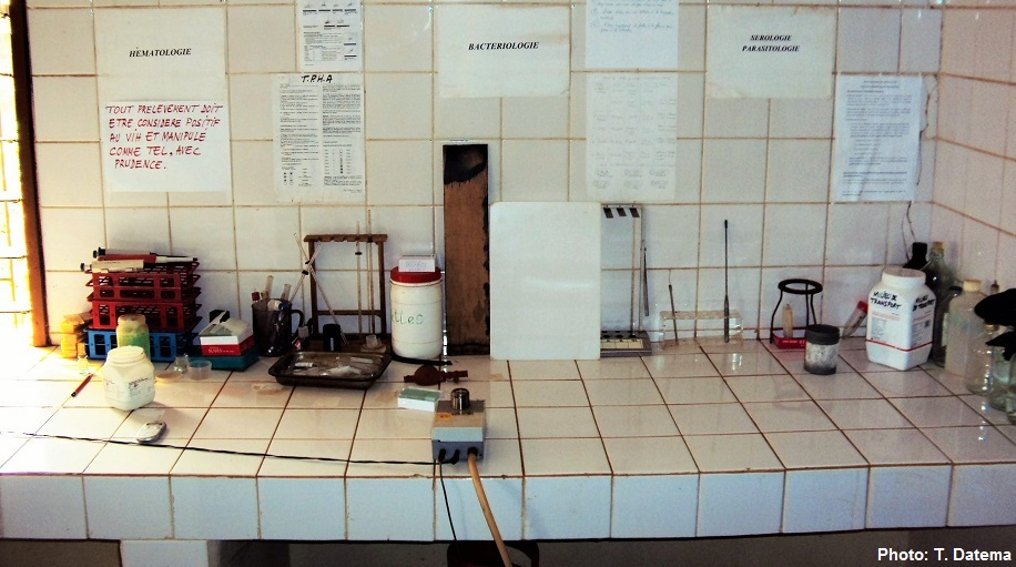Field TB Laboratory in Benin