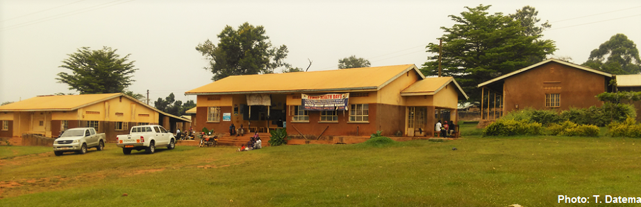 Health Center in Kojja, Uganda